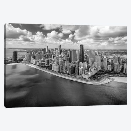 Chicago Gold Coast Panoramic Canvas Print #RMZ5} by Adam Romanowicz Canvas Art