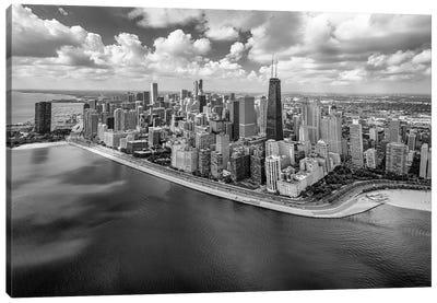 Chicago Gold Coast Panoramic Canvas Art Print