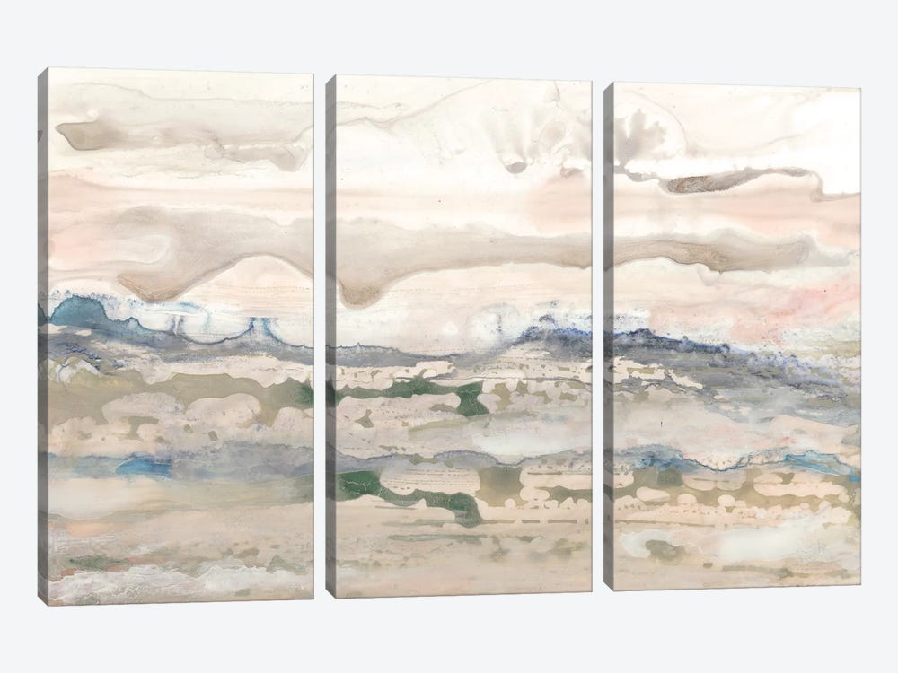 High Desert II by Renée Stramel 3-piece Canvas Wall Art