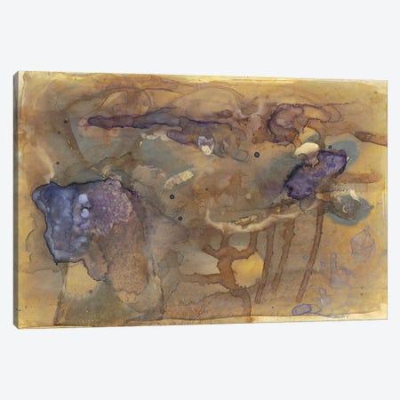 Violet Inclusion I 3-Piece Canvas #RNE112} by Renée Stramel Canvas Wall Art