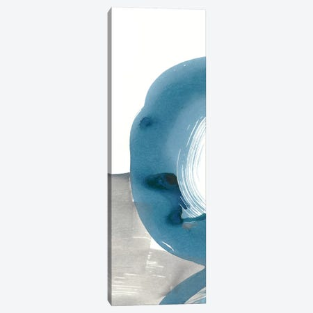 Breaking Blue I 3-Piece Canvas #RNE114} by Renée Stramel Canvas Print