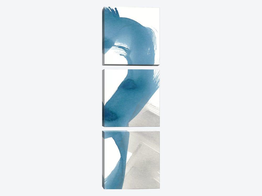 Breaking Blue II by Renée Stramel 3-piece Canvas Art Print