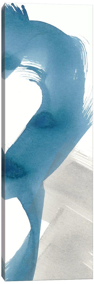 Breaking Blue II Canvas Art Print