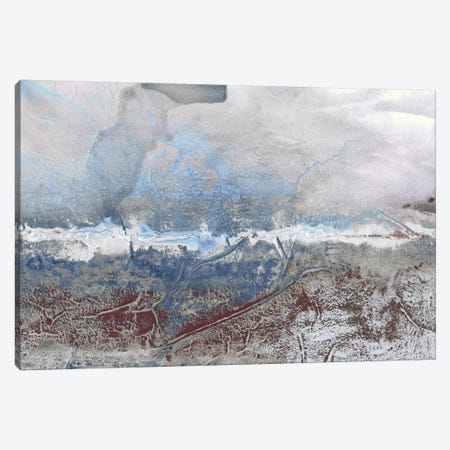 Horizon Spray III 3-Piece Canvas #RNE11} by Renée Stramel Canvas Artwork