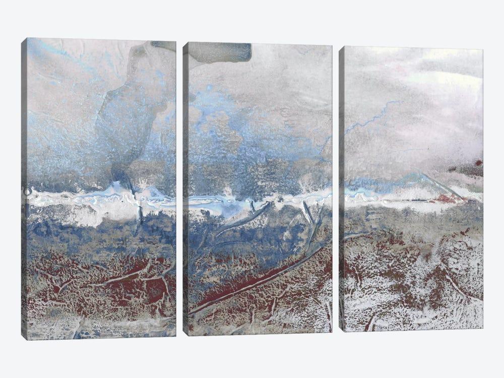 Horizon Spray III by Renée Stramel 3-piece Canvas Art
