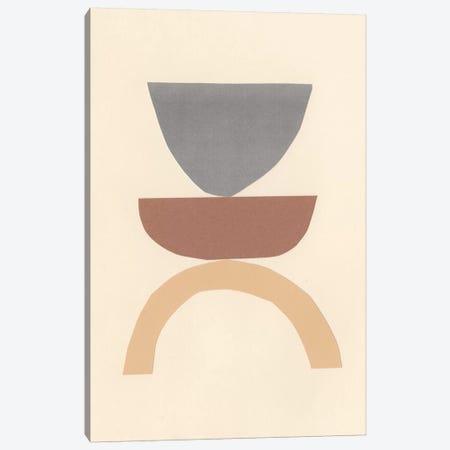 Neutral Sculpt I Canvas Print #RNE148} by Renée Stramel Art Print