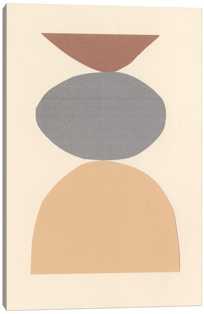 Neutral Sculpt II Canvas Art Print