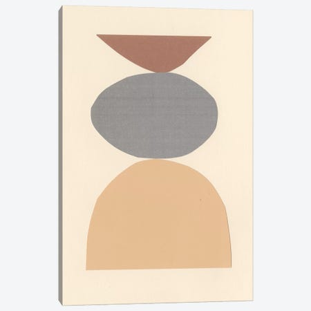 Neutral Sculpt II Canvas Print #RNE149} by Renée Stramel Art Print