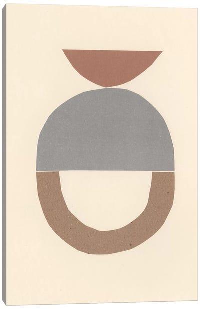 Neutral Sculpt III Canvas Art Print