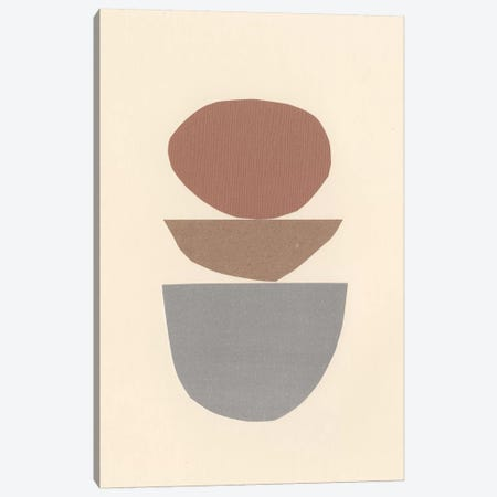 Neutral Sculpt IV Canvas Print #RNE151} by Renée Stramel Canvas Artwork