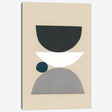 Modern Shapes I Canvas Print #RNE152} by Renée Stramel Canvas Art