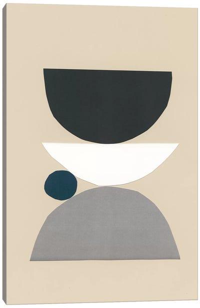 Modern Shapes I Canvas Art Print