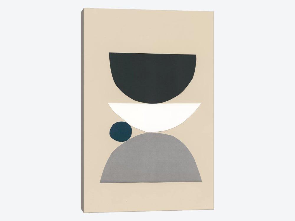 Modern Shapes I by Renée Stramel 1-piece Canvas Art