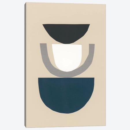 Modern Shapes II Canvas Print #RNE153} by Renée Stramel Canvas Wall Art