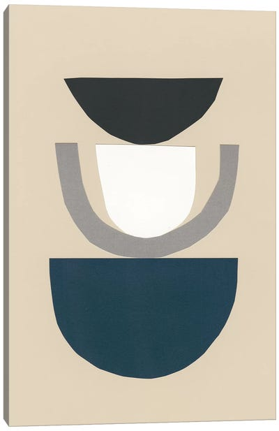 Modern Shapes II Canvas Art Print