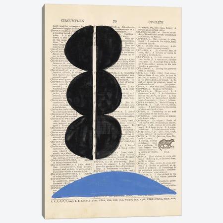 Modern Definition II Canvas Print #RNE161} by Renée Stramel Art Print