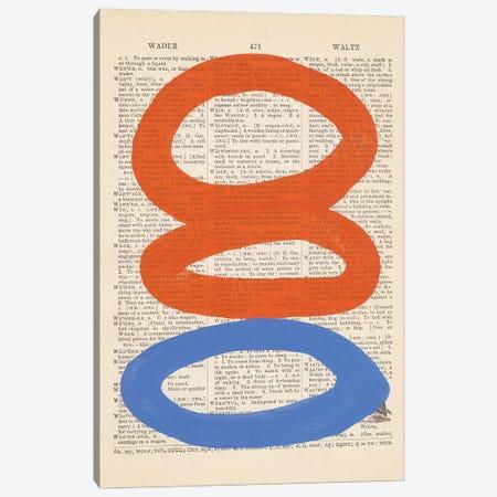 Modern Definition VI Canvas Print #RNE166} by Renée Stramel Canvas Art
