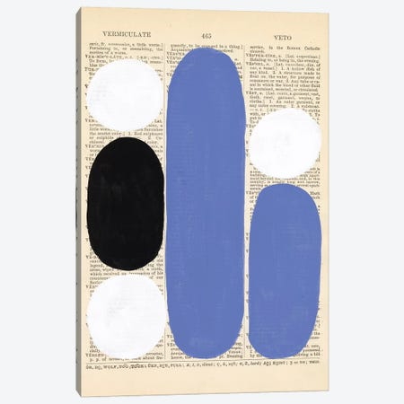 Modern Quotation II Canvas Print #RNE170} by Renée Stramel Canvas Wall Art