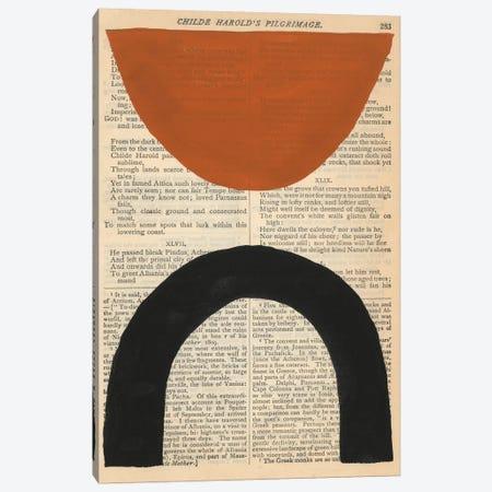 Modern Prose I Canvas Print #RNE179} by Renée Stramel Canvas Artwork