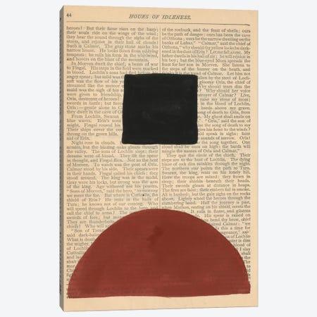 Modern Prose IV Canvas Print #RNE182} by Renée Stramel Art Print