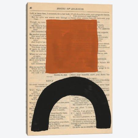 Modern Prose IX Canvas Print #RNE183} by Renée Stramel Canvas Print