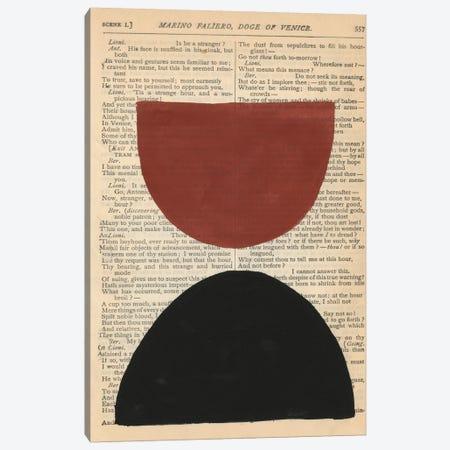 Modern Prose VIII Canvas Print #RNE187} by Renée Stramel Canvas Wall Art