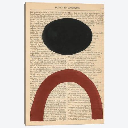 Modern Prose X Canvas Print #RNE188} by Renée Stramel Canvas Art Print
