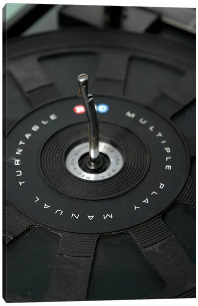Turntable III Canvas Art Print