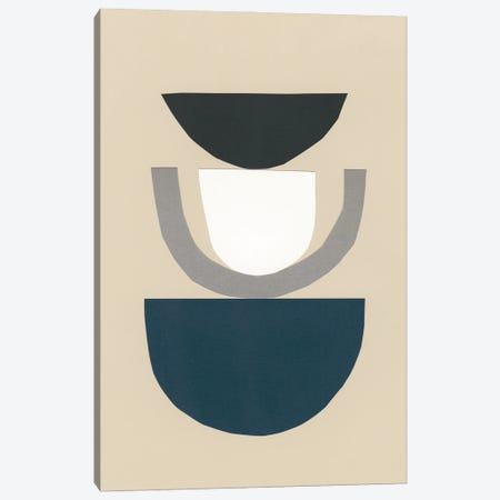 Modern Shapes II Canvas Print #RNE196} by Renée Stramel Canvas Print