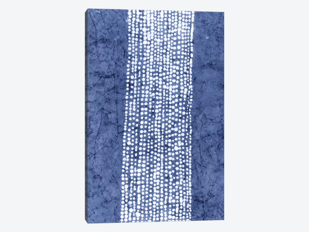 Primitive Indigo Patterns VI by Renée Stramel 1-piece Art Print