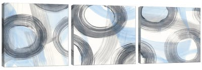 Twist And Turns Triptych Canvas Art Print