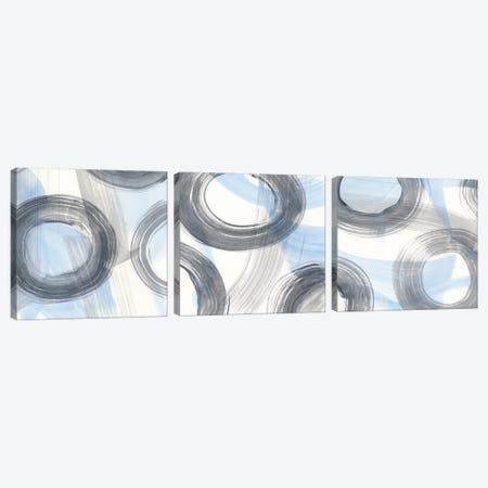Twist And Turns Triptych Canvas Print Set #RNE3HSET002} by Renée Stramel Art Print