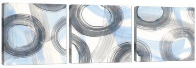 Twist And Turns Triptych Canvas Art Print