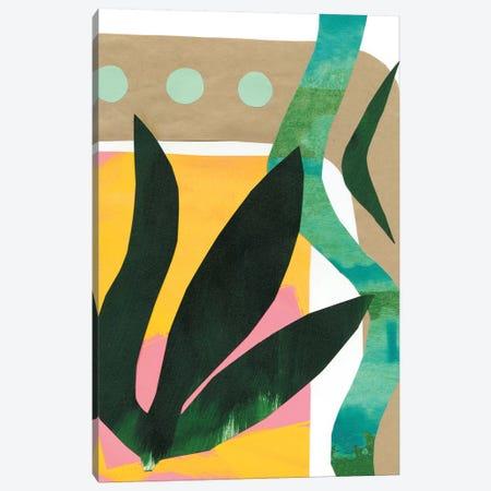 South Beach I Canvas Print #RNE43} by Renée Stramel Art Print