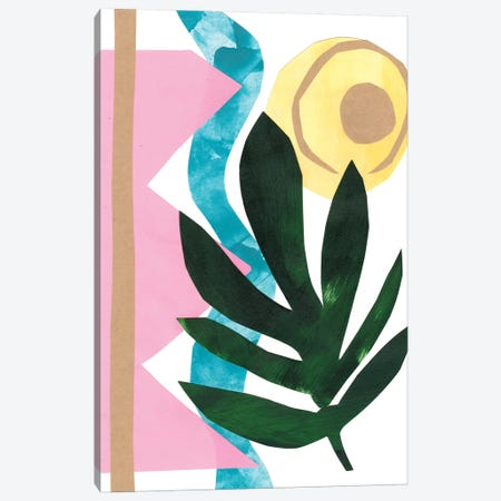South Beach III Canvas Print #RNE45} by Renée Stramel Canvas Art