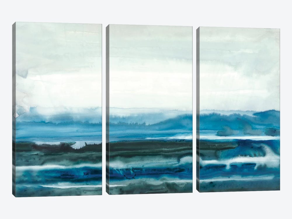 Lake Country I by Renée Stramel 3-piece Canvas Art Print