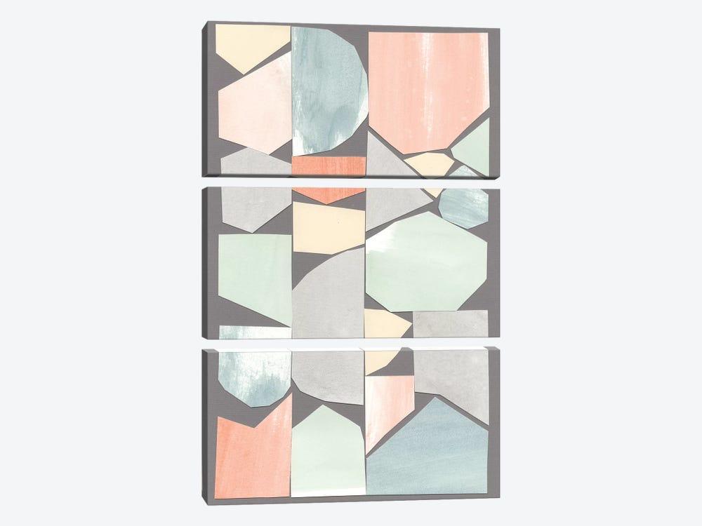 Rodondo I by Renée Stramel 3-piece Canvas Art