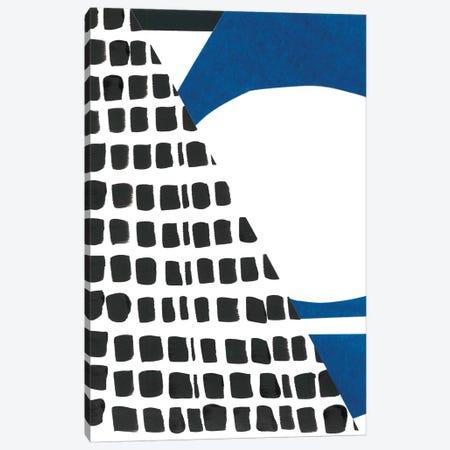 Memphis In Blue I Canvas Print #RNE88} by Renée Stramel Canvas Art Print