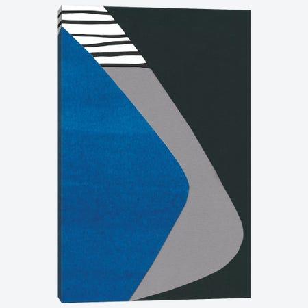 Memphis In Blue II Canvas Print #RNE89} by Renée Stramel Canvas Art Print