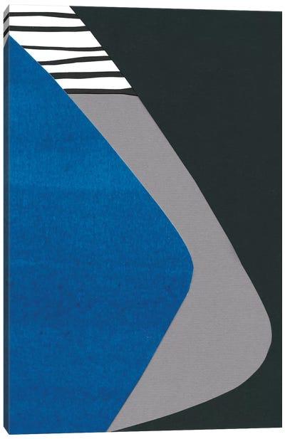 Memphis In Blue II Canvas Art Print