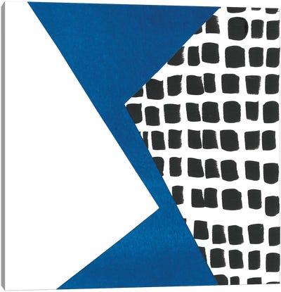 Memphis In Blue III Canvas Art Print