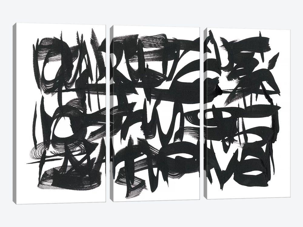 The Collective Unconsciousness II by Renée Stramel 3-piece Canvas Print
