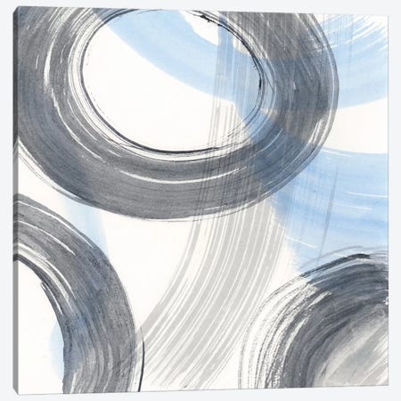 Twist And Turns II Canvas Print #RNE98} by Renée Stramel Canvas Wall Art