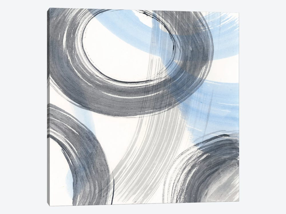 Twist And Turns II by Renée Stramel 1-piece Canvas Print