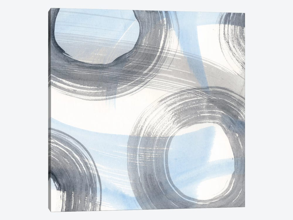 Twist And Turns III by Renée Stramel 1-piece Canvas Artwork