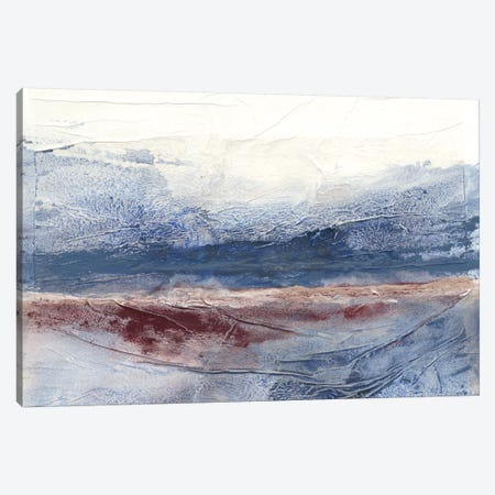 Horizon Spray I Canvas Print #RNE9} by Renée Stramel Canvas Wall Art