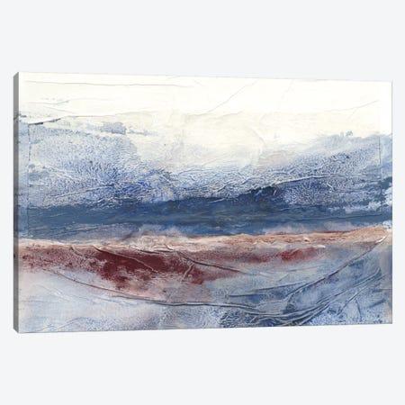 Horizon Spray I Canvas Print #RNE9} by Renée Stramel Canvas Wall Art