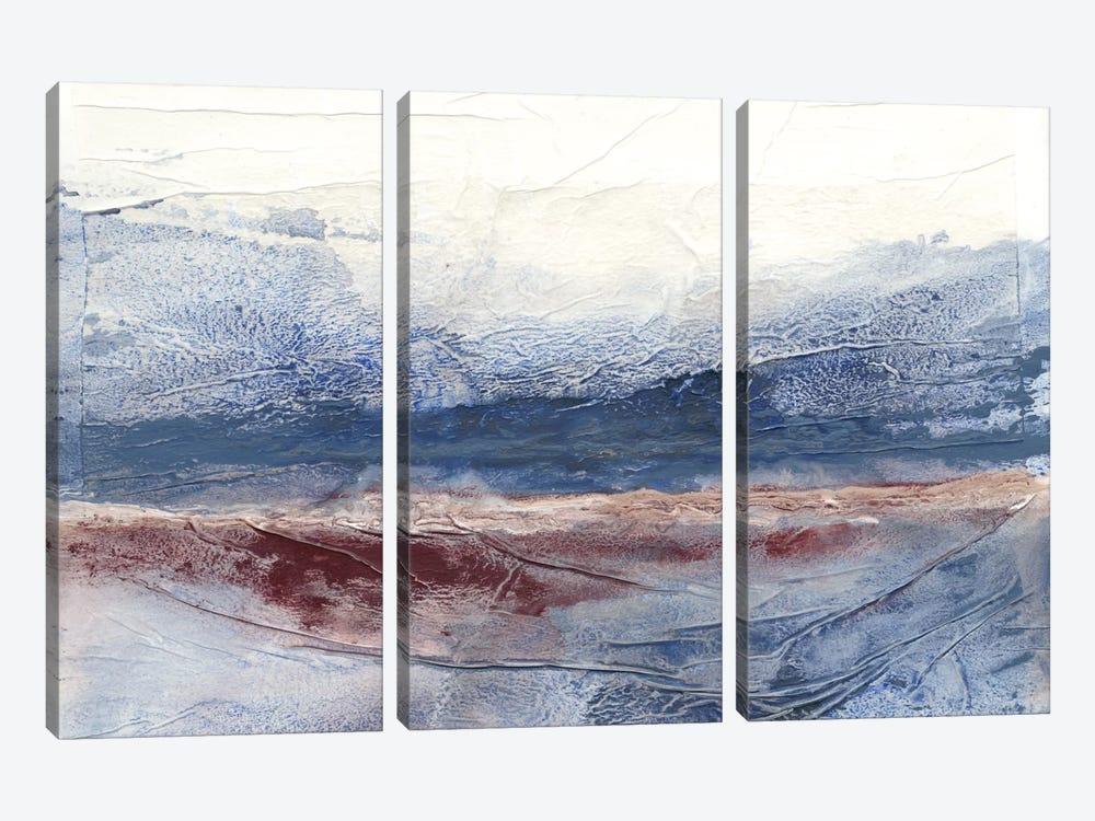 Horizon Spray I by Renée Stramel 3-piece Canvas Art