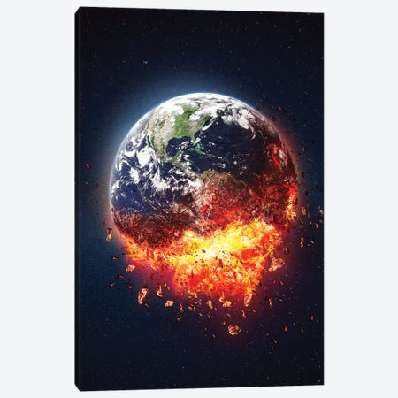 The End Of 2020 Canvas Print #RNG11} by Ruvim Noga Canvas Art