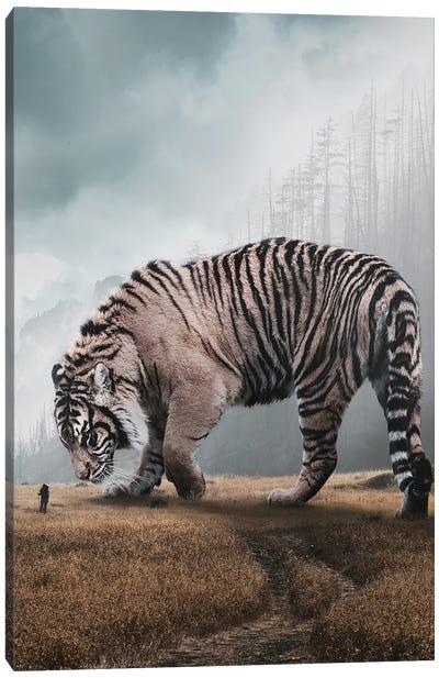 Giant Tiger Canvas Art Print